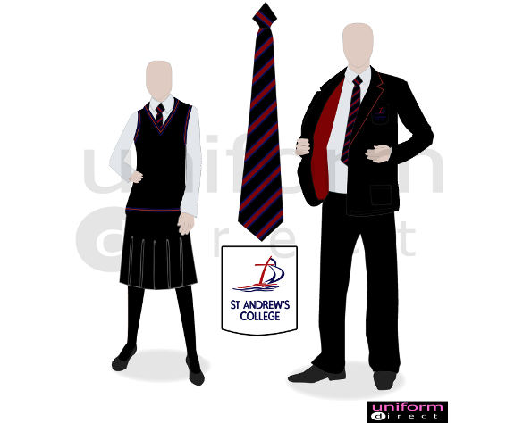 School bags for secondary - St Andrews College School Uniforms By Uniform Direct 174