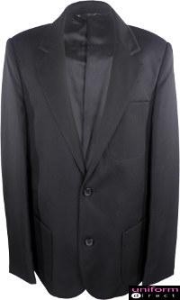 Uniform Direct 174 Boys School Blazers In Black Teflon